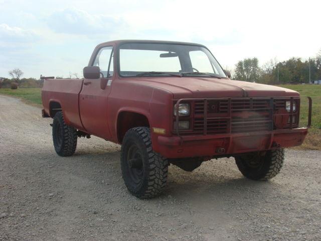 1986 Chevrolet M1028 K30 Cucv Military 4x4 Diesel 5  4 Ton