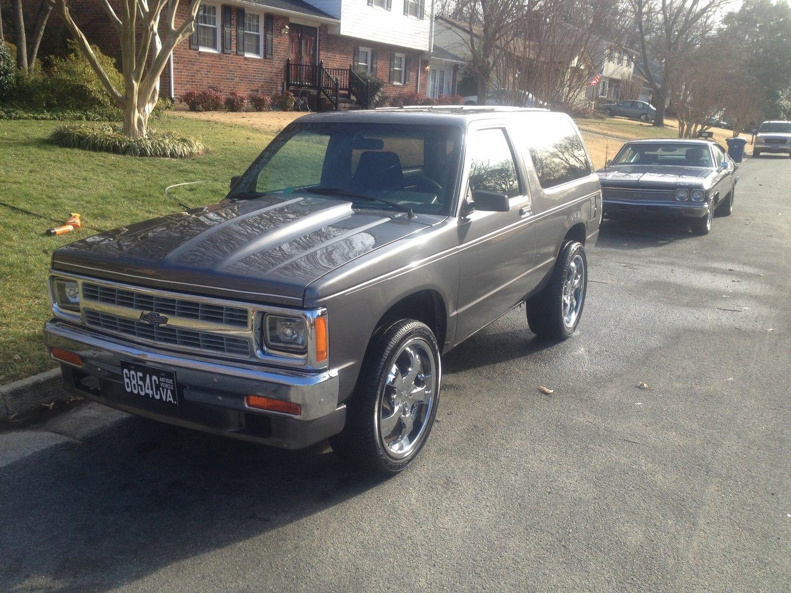 1986 Chevrolet S10 Blazer Custom V8 Previous Show Car Classic