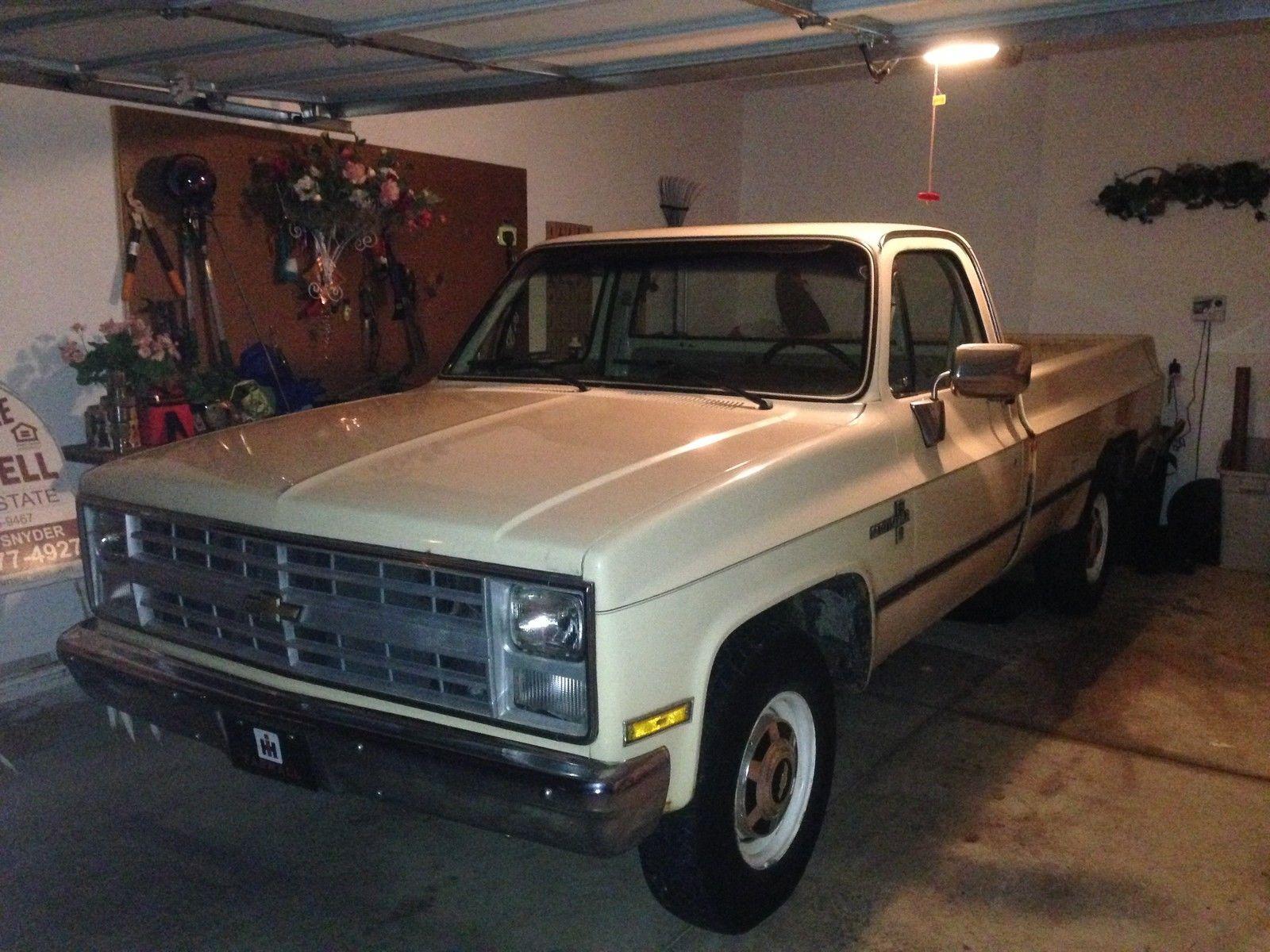 1986 Chevrolet Scottsdale 3/4 Ton Camper Special Pickup ...