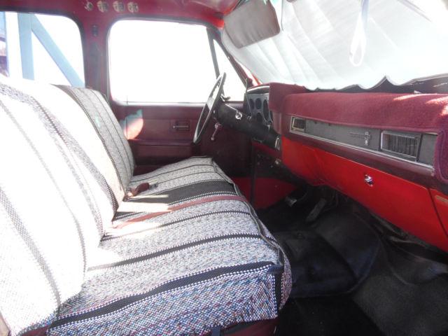1986 Chevy 3x3 One Ton Crew Cab Truck Classic Chevrolet