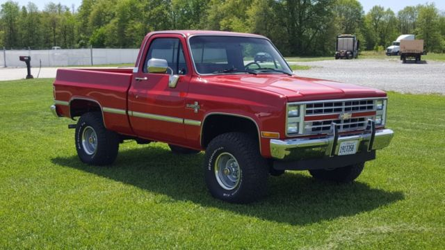 Used Chevy Silverado For Sale >> 1986 Chevy 4x4 Cummins Turbo Diesel - Classic Chevrolet C/K Pickup 1500 1986 for sale