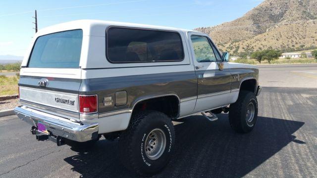1986 Chevy Blazer K5, 4x4 , A/C Arizona Rust Free Blazer ...