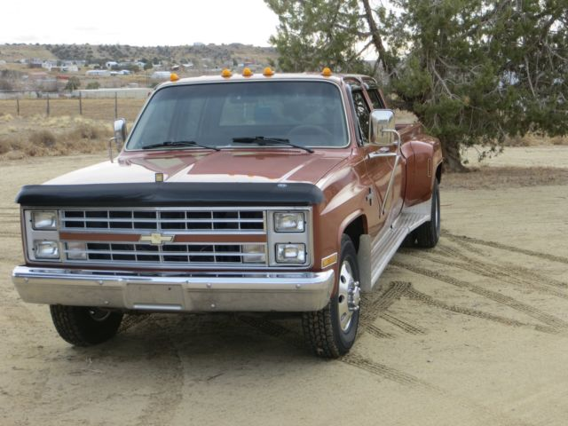 1986 Chevy Crew Cab 1 Ton Dually Classic Chevrolet