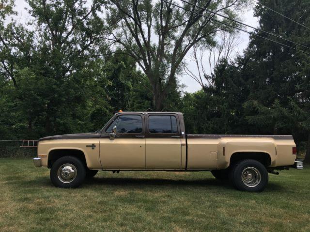 1986 chevy 1 ton 4x4 dually