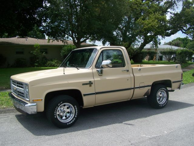 1986 chevy silverado scottsdale swb pickup truck. Black Bedroom Furniture Sets. Home Design Ideas