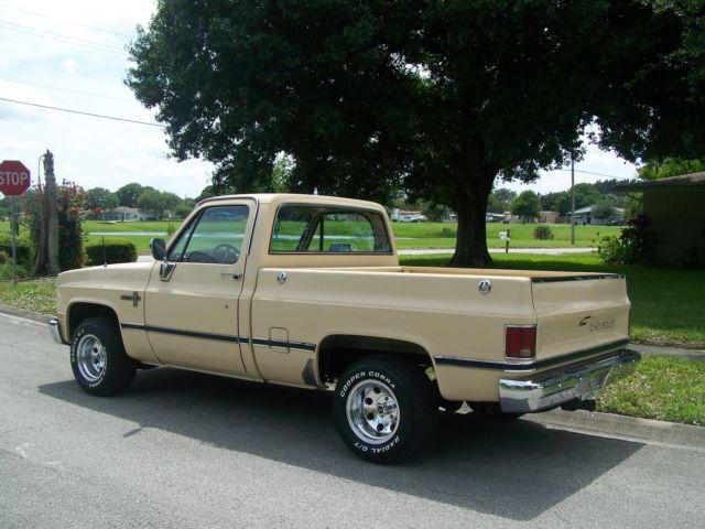 1986 Chevy Silverado / Scottsdale SWB Pickup Truck ...