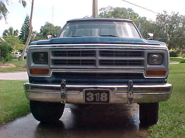 1986 Dodge Ram 1500 4x4 3 Inch Lift