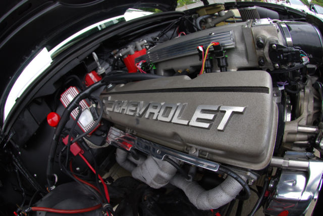 1986 El Camino Project Car Full Roller 383 W Miniram Amp Holley Hp Efi Classic Chevrolet El
