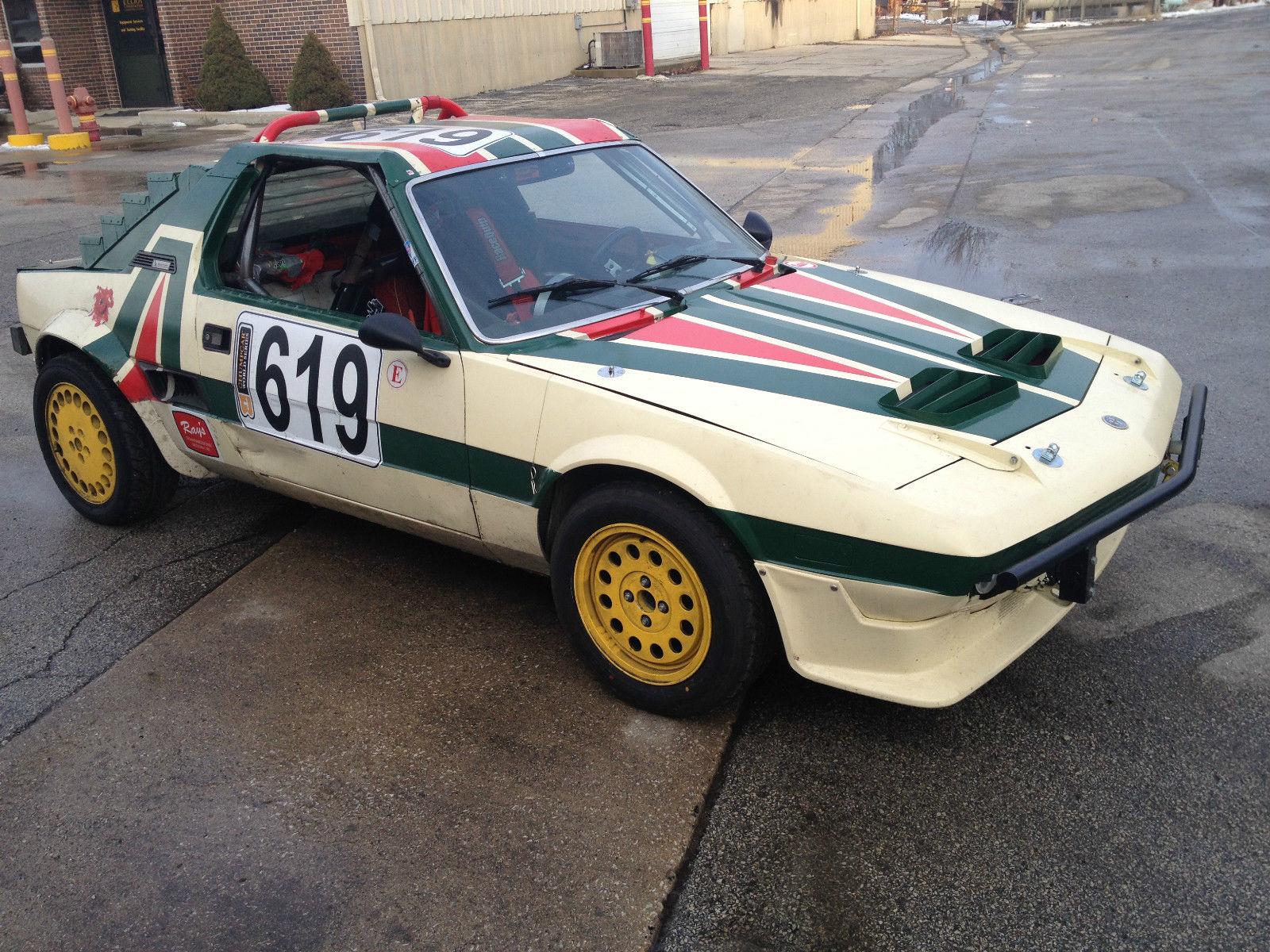 1986 Fiat Bertone X 1/9 Alfa Romeo motor Race Car for Lemons/Chump ...