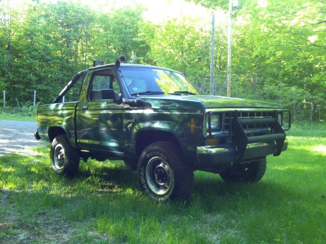 1986 Ford Bronco II , Ranger Truck, 4x4 Custom, very ...