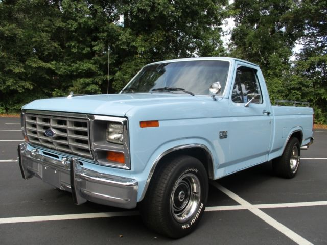 1986 FORD F-150 LIMITED TRUCK 302 V8 143K SOLID AC NO RUST BEAUTIFUL SHOW TRUCK - Classic Ford F ...