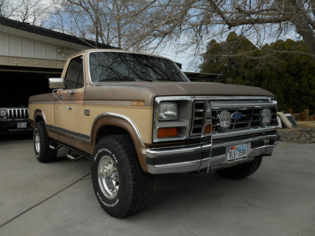 1986 ford f 150 xlt lariat 4x4 5 8l classic ford f 150 1986 for sale. Black Bedroom Furniture Sets. Home Design Ideas