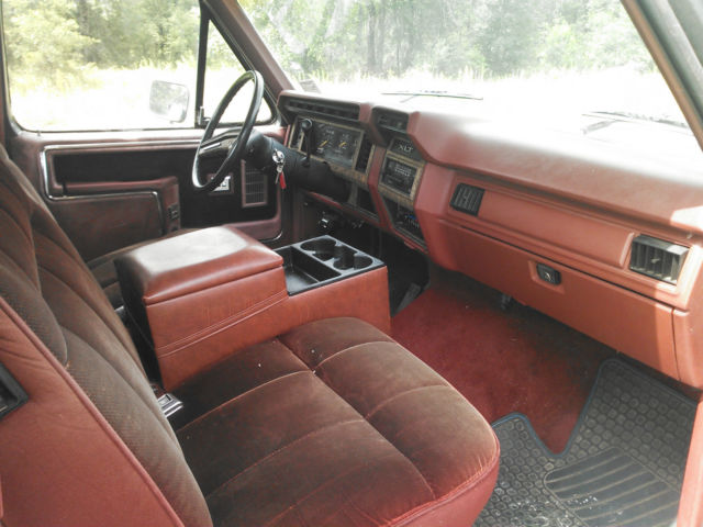 1986 Ford F-150 XLT Lariat Extended Cab Pickup 2-Door 5.8L ...