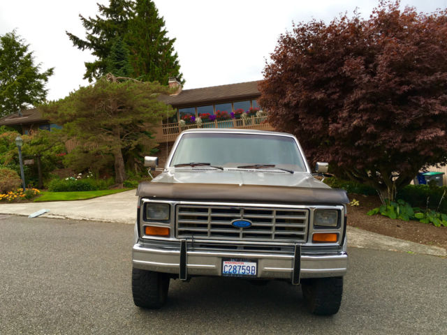 1986 Ford F 250 Xlt 4x4 Lariat Diesel Low Miles All Original Amazing Truck Classic Ford F 250