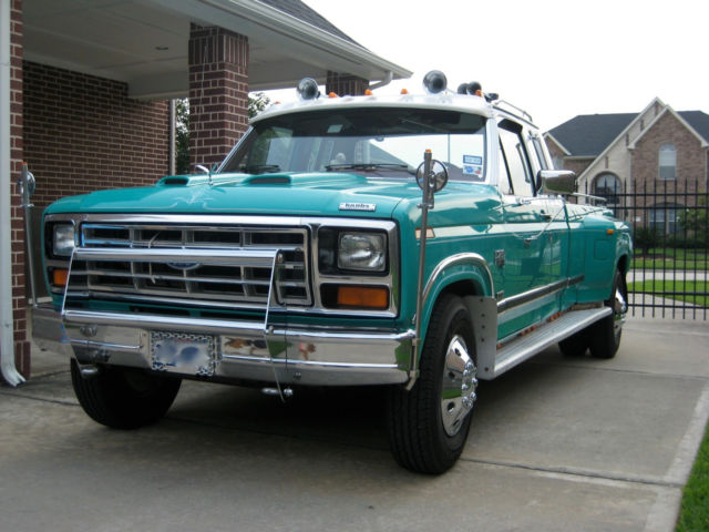 6 Door Truck For Sale Used >> 1986 Ford F-250 XLT, 6.9L 3/4 Ton, Dually, 4:10 rear end - Classic Ford F-250 1986 for sale