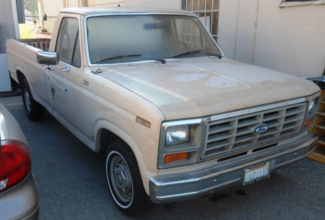 1986 ford f150 custom pick up truck classic ford f 150 1986 for sale. Black Bedroom Furniture Sets. Home Design Ideas