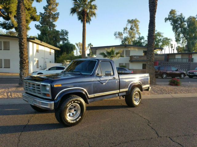 1986 ford f150 xlt lariat 4x4 short bed 351 v8 a t fully loaded classic ford f 150 1986 for sale. Black Bedroom Furniture Sets. Home Design Ideas