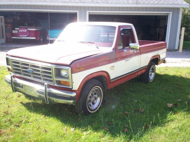 1986 ford f150 xlt lariat north carolina truck classic ford f 150 1986 for sale. Black Bedroom Furniture Sets. Home Design Ideas