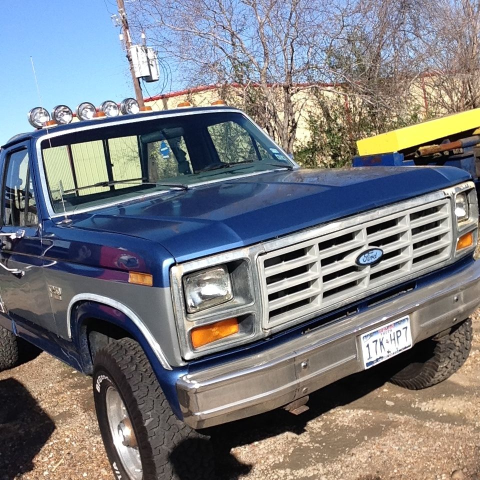 Single Cab Long Bed Diesel >> 1986 Ford F250 4x4 - Classic Ford F-250 1986 for sale