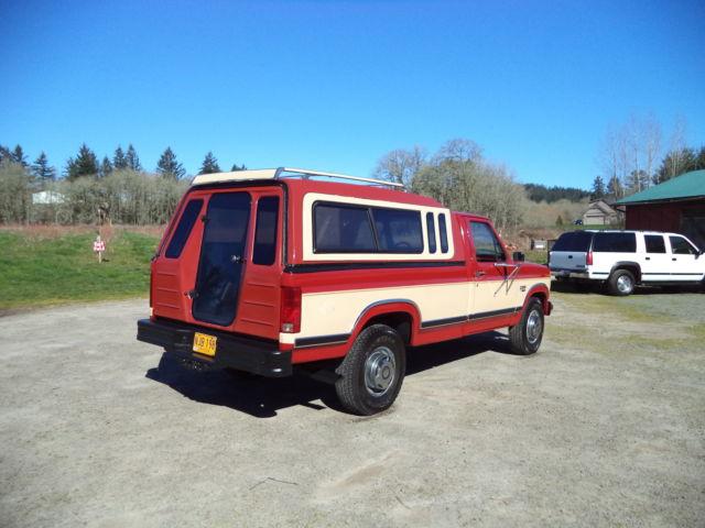 1986 Ford F250 XLT LARIAT 6.9 DIESEL,RUST FREE,Elderly 1 ...