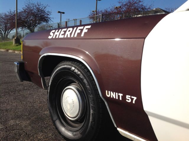 Retired Police Cars For Sale >> 1986 Ford LTD Crown victoria Ex-Police car - Classic Ford ...