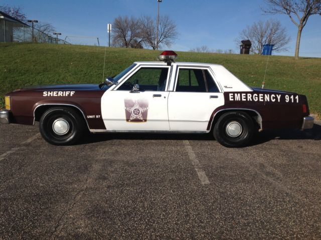 Crown Vic Ex Police Car For Sale
