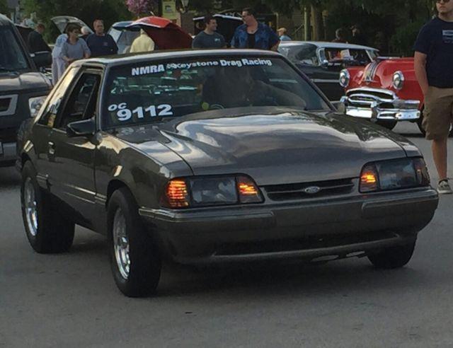 1986 Ford Mustang Lx Notchback 347 Stroker All Motor 10