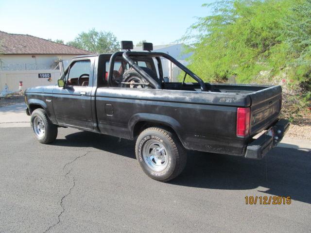 1986 ford ranger 4x4 single cab manual arizona ranch truck no reserve no rust classic ford. Black Bedroom Furniture Sets. Home Design Ideas