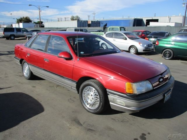1990 Ford Taurus >> 1986 Ford Taurus L Used 3L V6 12V Automatic NO RESERVE - Classic Ford Taurus 1986 for sale