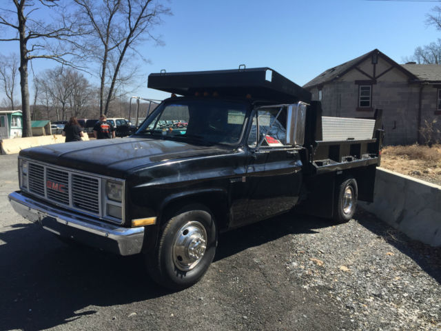 1986 GMC 3500 DUMP TRUCK - Classic GMC Sierra 3500 1986 for sale