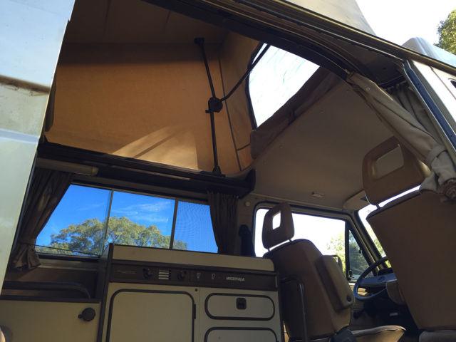 1986 Gold VW Vanagon Westfalia Camper Van / 10k miles / tent