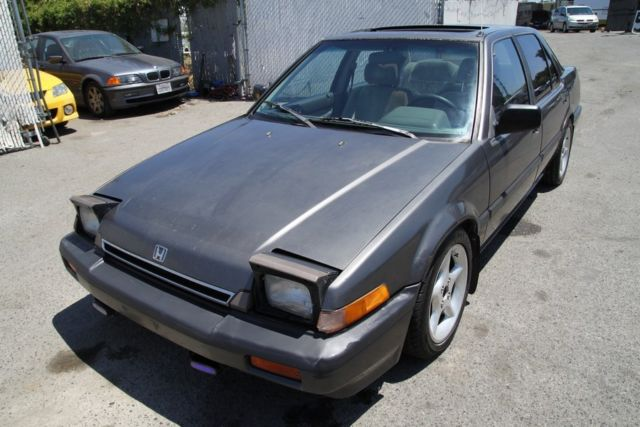 1986 honda accord lxi manual 4 cylinder no reserve for Honda accord 4 cylinder