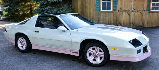 1986 iroc camero t top classic chevrolet camaro 1986 for. Black Bedroom Furniture Sets. Home Design Ideas