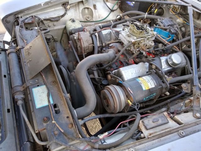 1986 JAGUAR XJ6 CHEVY 350 CONVERSION SWAP SBC ENGINE V8 ...