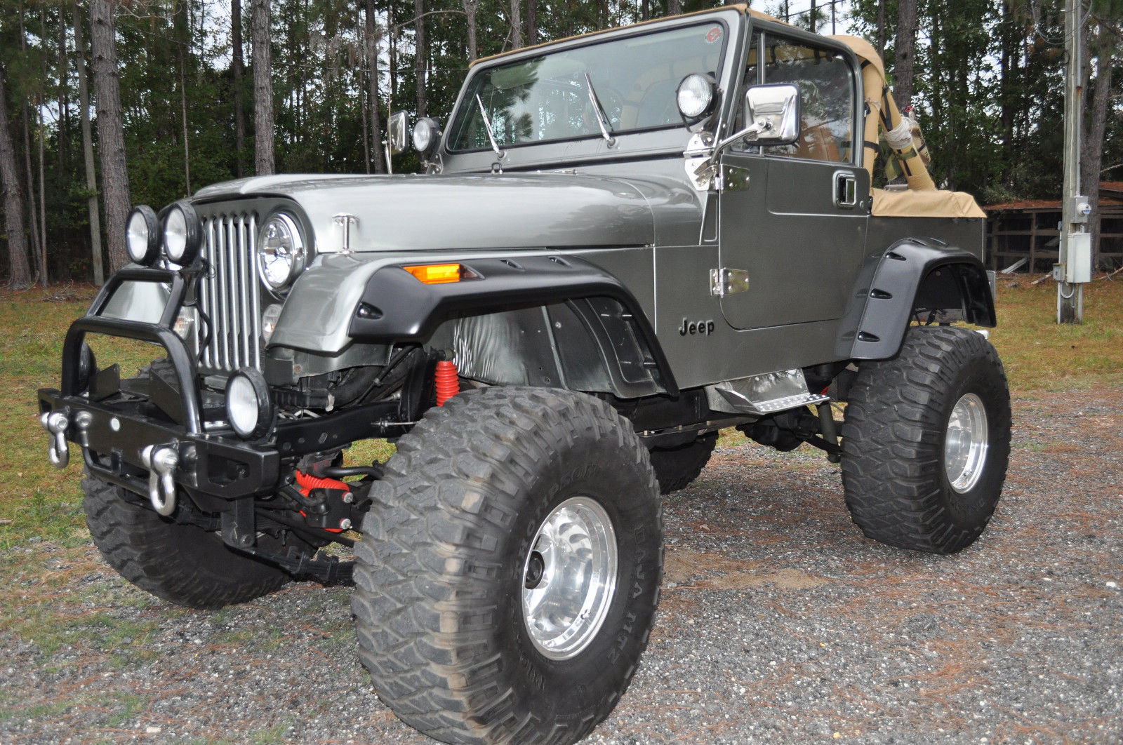 1986 Jeep CJ CJ7 & 1986 Jeep CJ7 Base Sport Utility 2-Door 4.2L - Classic Jeep CJ 1986 ...