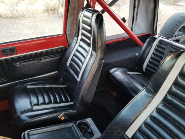 1986 Jeep Cj7 Laredo Sebring Red With Excellent Interior