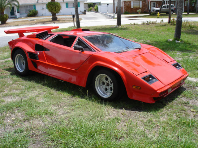 1986 Lamborghini Replica Kit Car Rat Rod Classic Lamborghini