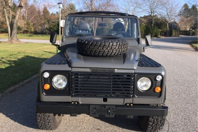 1986 Land Rover Defender 110 85109 Miles Gray Suv 4
