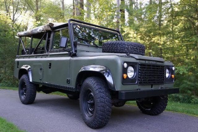 1986 Land Rover Defender 110 Soft Top Beach Truck