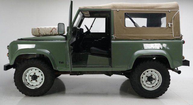 1986 land rover defender 90 29 006 miles low reserve nice piece classic land rover. Black Bedroom Furniture Sets. Home Design Ideas