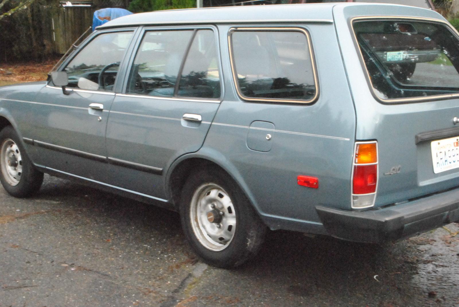 1986 Mazda Glc Wagon 1 5 Liter 5 Speed