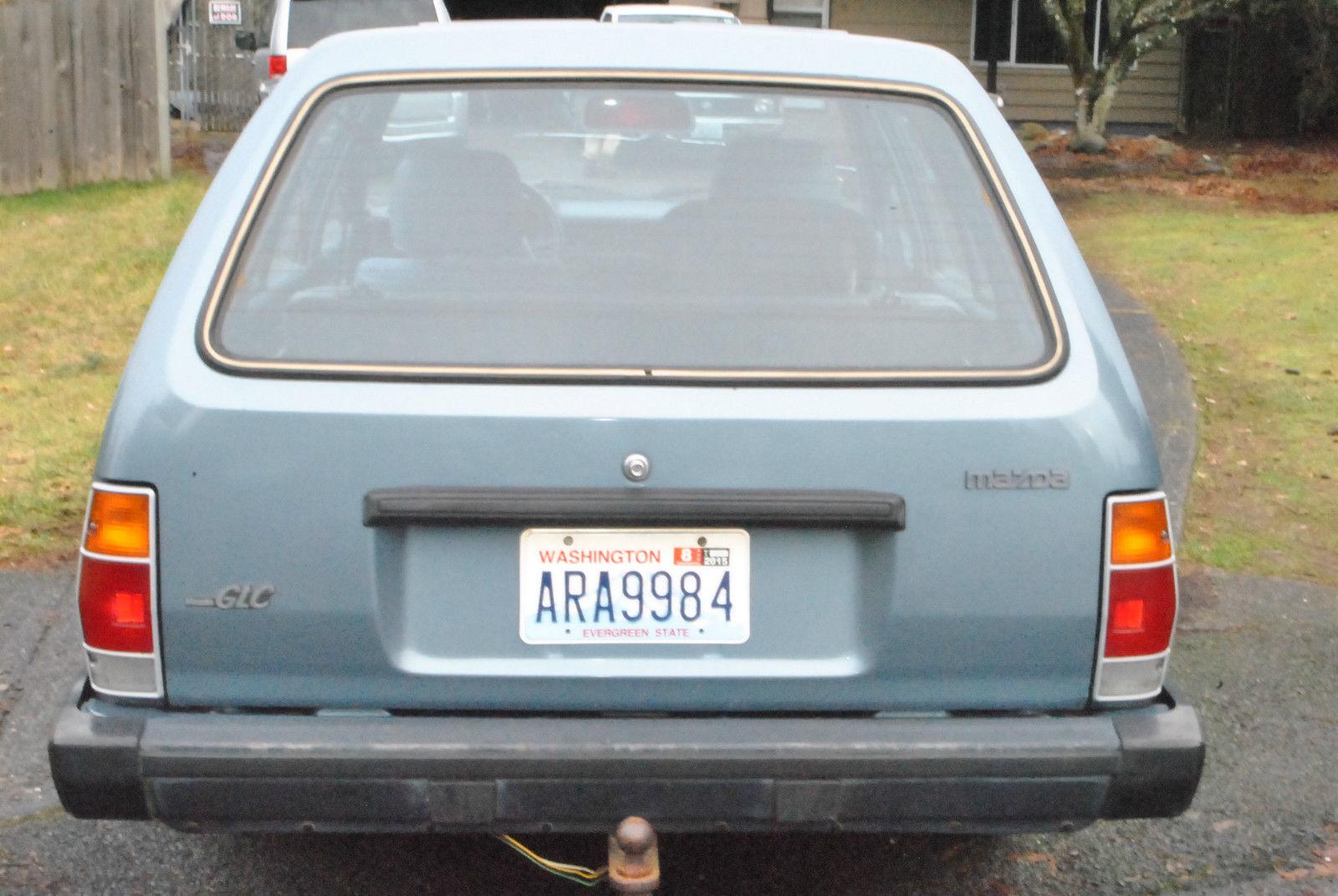 1986 Mazda GLC Wagon 1.5 liter 5 speed - Classic Mazda ...