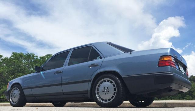 1986 Mercedes Benz 300e W124 5 Speed Manual 190e 16v 500e