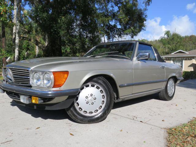 1986 mercedes benz 500sl euro florida car super clean 2 for Mercedes benz melbourne florida