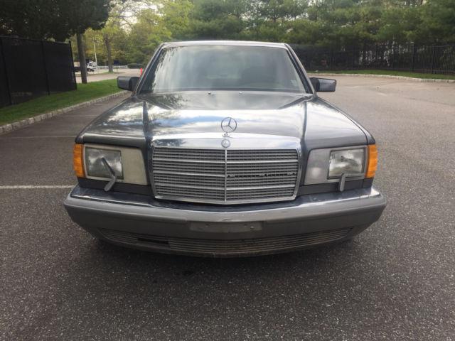 1986 Mercedes Benz 560 Sel 1 Owner Runs Drives Like A