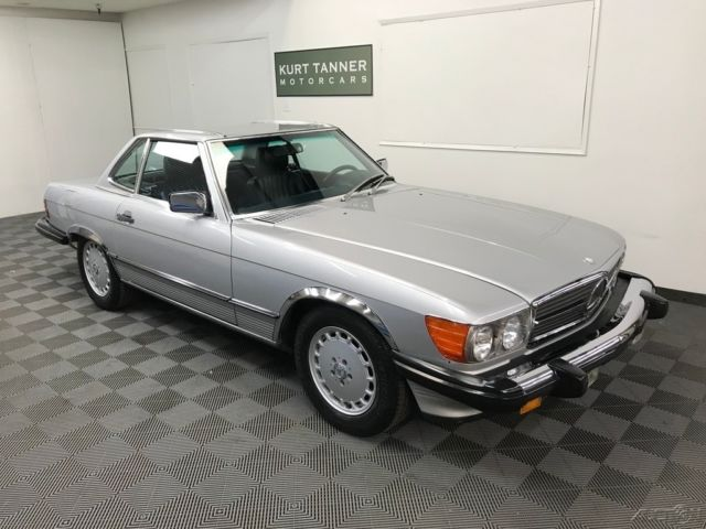 1986 mercedes benz 560 sl convertible 2 owner ca car for Used mercedes benz convertible for sale by owner