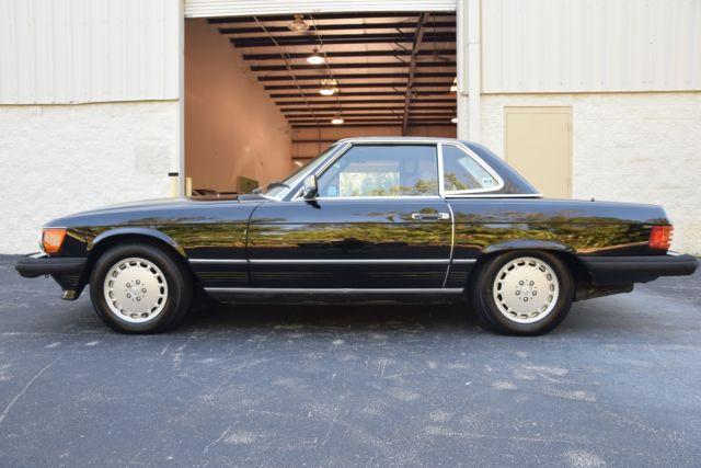 1986 mercedes benz 560sl 8 86 build 040 black over for Mercedes benz build a car