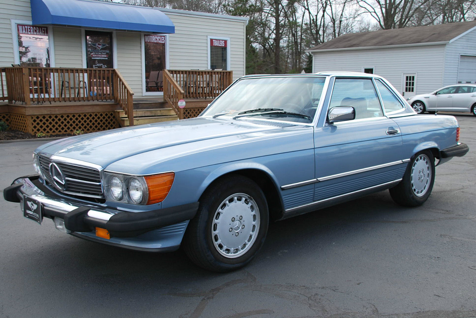 1986 mercedes benz 560sl roadster convertible only 54k for Classic sl mercedes benz for sale