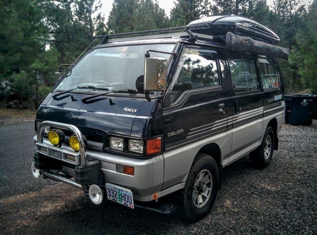 1986 Mitsubishi Delica L300 4x4 Turbo Diesel Camper