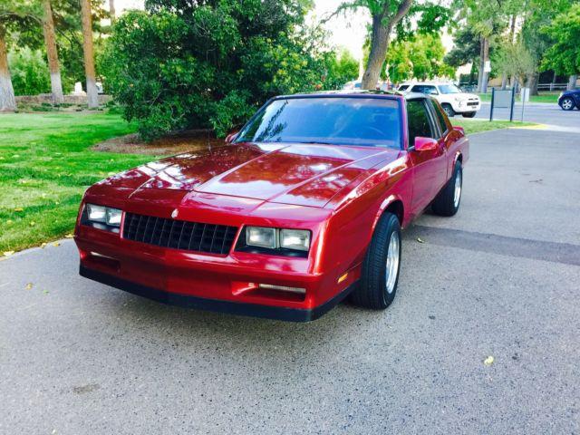 Used Cars In Albuquerque >> 1986 Monte Carlo (SS) T-Top, 70k Orig. Miles, 5.0, Auto ...